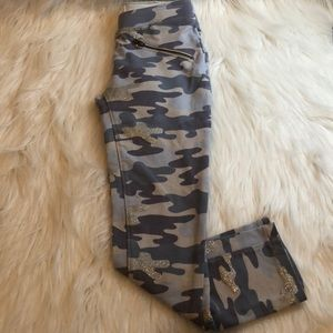Glitter Camo Jeggings